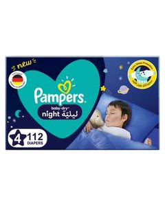 PAMPERS BABY-DRY DIAPERS, SIZE 4, 10-15KG