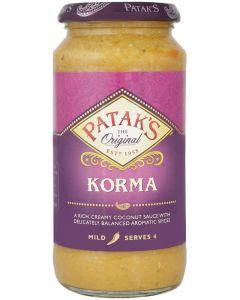 Patak's Korma Sauce 450 gms