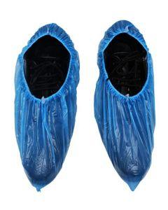 SUPER TOUCH PE SHOE COVER BLUE, 1 X 100