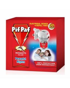 Pif Paf Liquid Electrical Device WITH 30 Night refill 28 ml