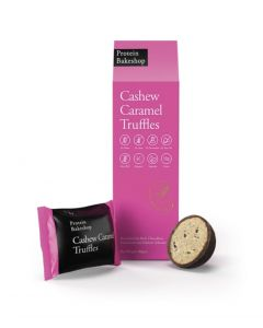 Protein Bakeshop cashew caramel truffles 60 gm