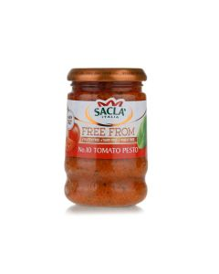 Sacla Red Pesto Free From 190 GM
