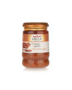 Sacla Sun Dried Tomato & Garlic 190 GM