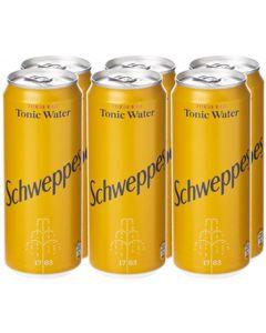 SCHWEPPES TONIC WATER 6 X 300 ML