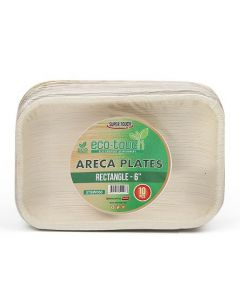 """ECO-TOUCH ARECA RECTANGLE PLATE 6"""""""