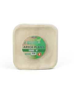 """ECO-TOUCH ARECA SQUARE PLATE 10"""""""