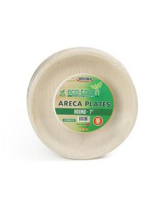 """ECO-TOUCH ARECA ROUND PLATE 7"""""""