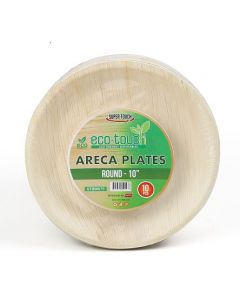 """ECO-TOUCH ARECA ROUND PLATE 10"""""""