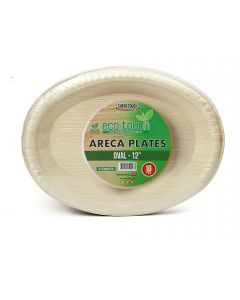 """ECO-TOUCH ARECA OVAL PLATE 12"""""""