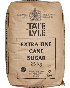SUGAR CASTER Tate and Lyle 25 KG