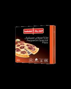 SUNBULAH PEPPERONI SPECIAL PIZZA (PEPPERONI& VEGETABLES) 470 GM