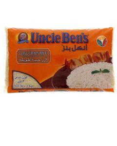 UNCLE BEN'S LONG GRAIN RICE 2 KG