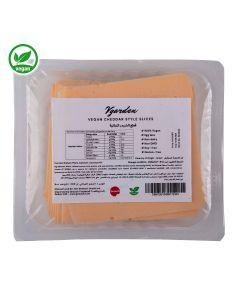 VgardenCHEDDAR STYLE SLICES 200gm Vegan Cheese